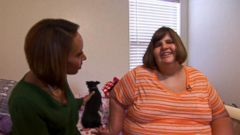 VIDEO: Hannah Wilkinson and Alexis Shapiro suffer from Prader-Willi syndrome, which can cause an insatiable appetite.