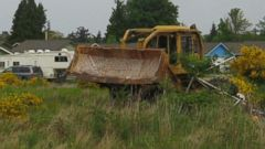 Neighbors Panic Over Mans Bulldozer Rampage