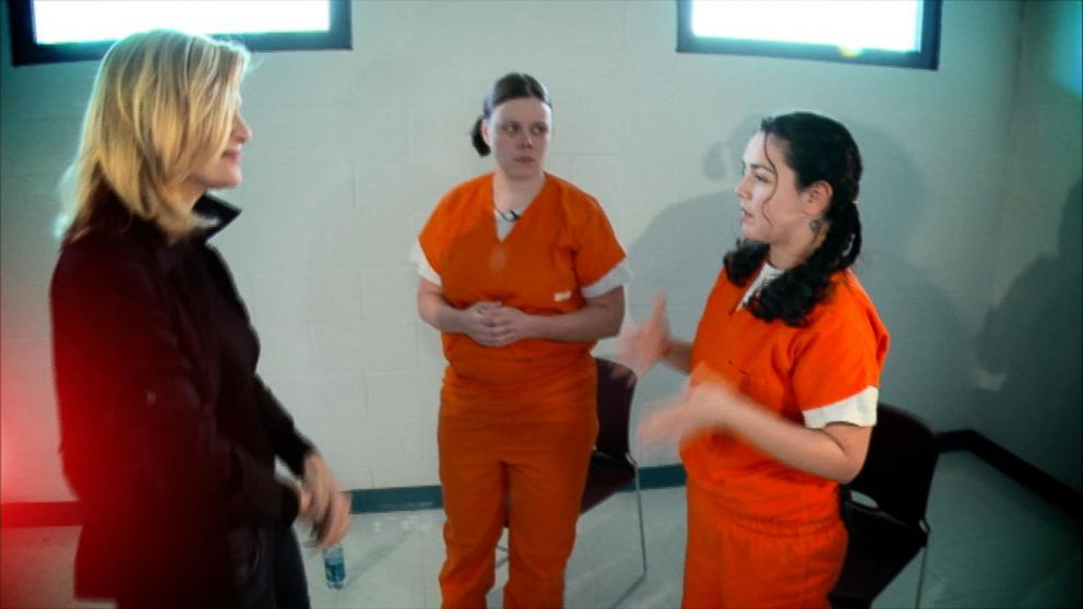 Behind Bars With Women In Prison A Diane Sawyer Special