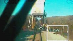 Video Shows Train involved in death of a Midnight Rider Crewmember