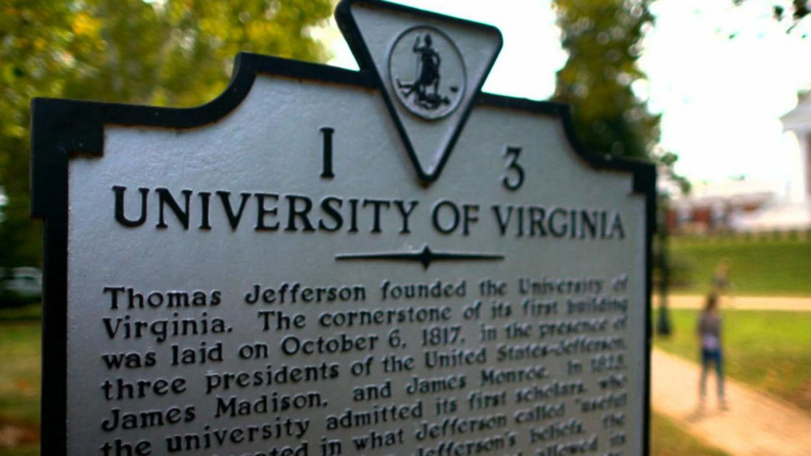VIDEO: 'Jackie' Tells UVA Friends a Story That Will Change Their Lives: Part 1