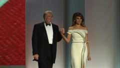 VIDEO: First Ladies Inaugural Ball Gowns Through the Years