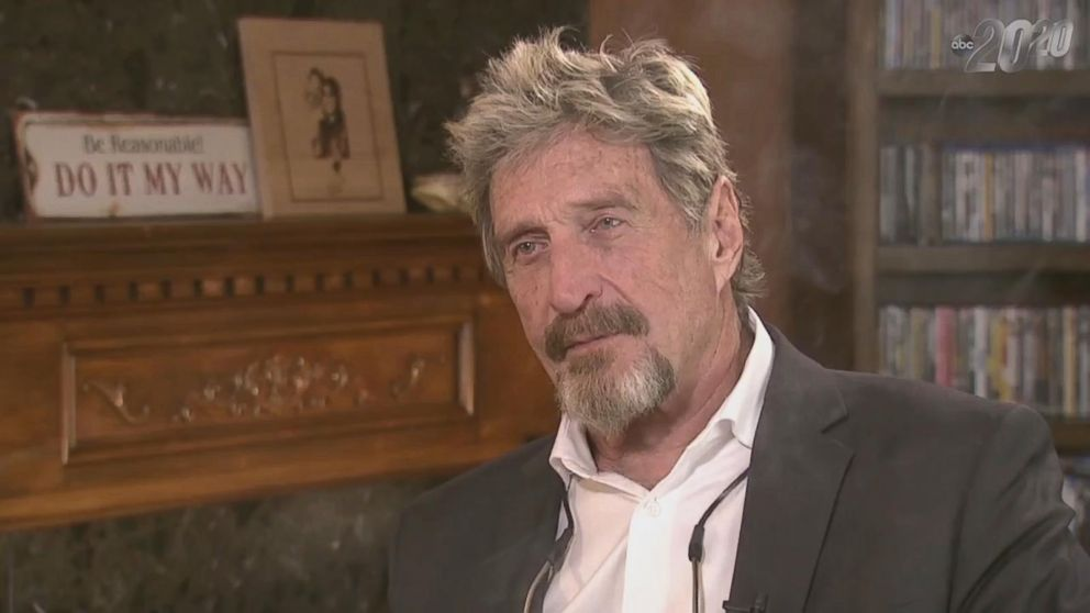 VIDEO: John McAfee: Inside the anti-virus software pioneers home today