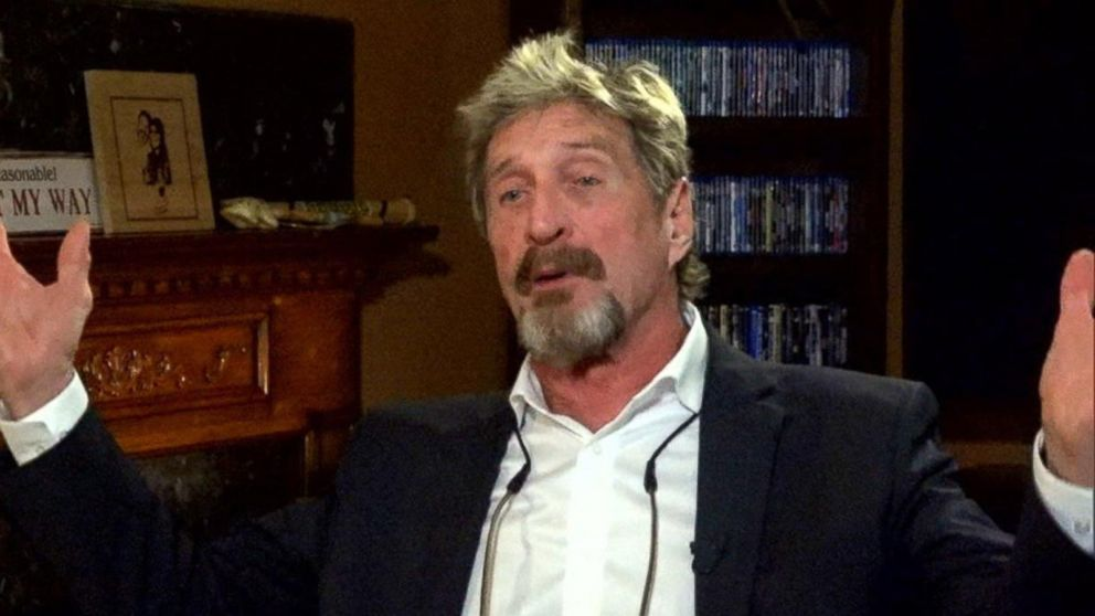 VIDEO: John McAfee denies any involvement in neighbor's murder: Part 4
