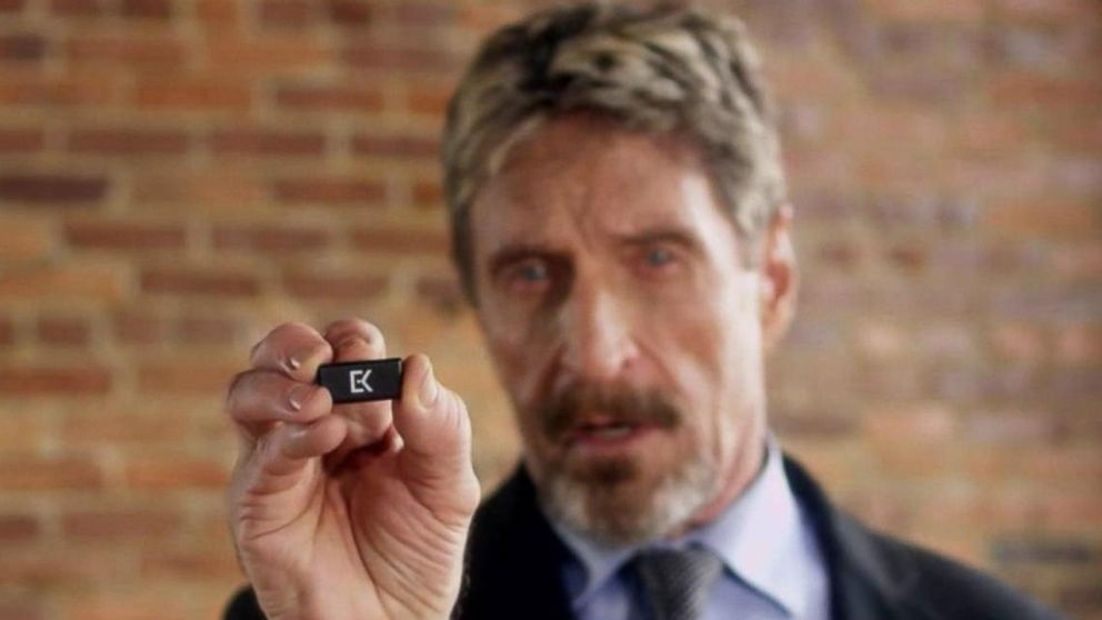 VIDEO: John McAfee's latest product in the world of cyber security: Part 5