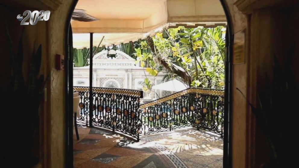A tour inside gianni versace 39 s former mansion video abc news for Gianni versace home