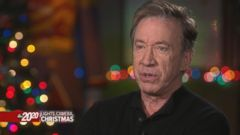 VIDEO: Tim Allen describes how uncomfortable his costume, makeup were for The Santa Clause