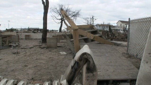 VIDEO: Producers Jim DuBreuil, Keturah Gray reunite with those burned out their homes in Breezy Point, N.Y.