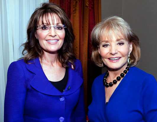 Barbara Walters Most Fascinating Sarah Palin