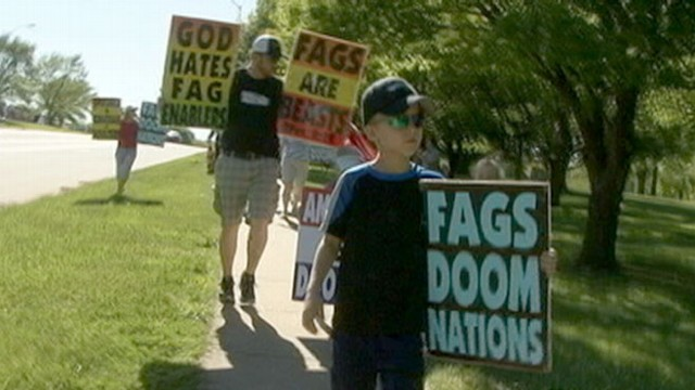 VIDEO:  Part 2: Second-grader is taught by family to hate gay people, Jews.