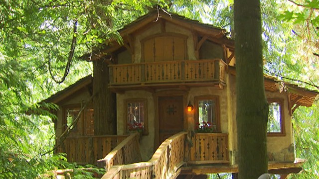 A Plane, a Tree House, and Other Bizarre Homes Video - ABC ...