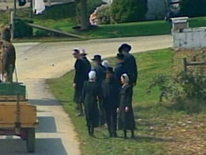 Amish Teens Make Choice of Lives