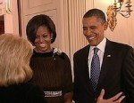 "VIDEO: Part 1 of Barbara Walters ""A Thanksgiving Visit with President and Mrs. Obama."""