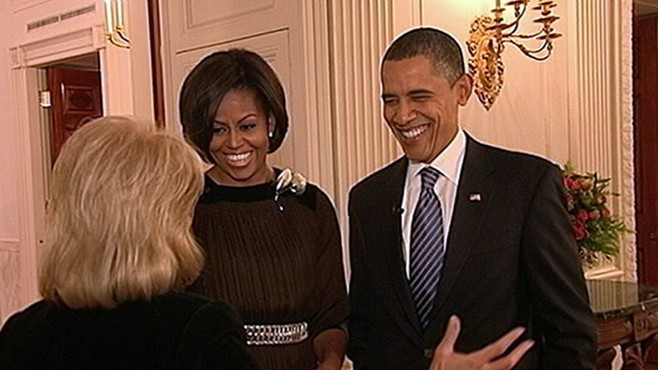 "VIDEO: Part 1 of Barbara Walters' ""A Thanksgiving Visit with President and Mrs. Obama."""