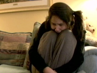 VIDEO: Bridget, 15, cant sit on the same couch as her mother without screeching.