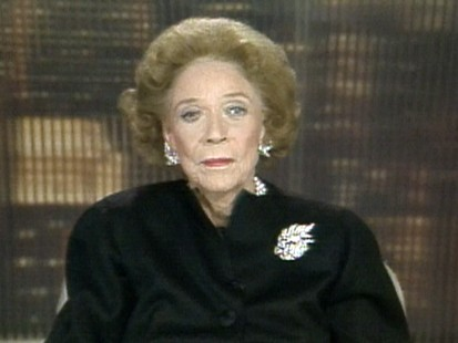 VIDEO: Barbara Walters Interviews Brooke Astor