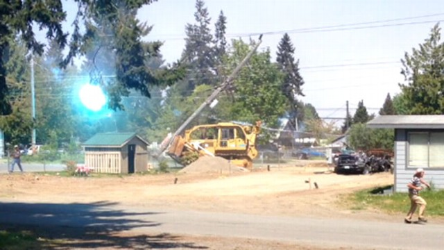 VIDEO: Man Drives Bulldozer Through Neighbors House
