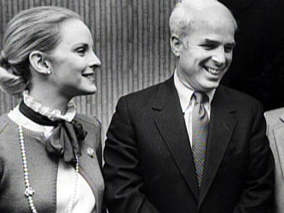 Cindy and John McCain