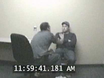 "VIDEO: ""The reason youre scared is because you did it,"" cop tells wife-killer."