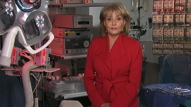 VIDEO: Barbara Walters tells the story of her heart surgery and the risks women face.