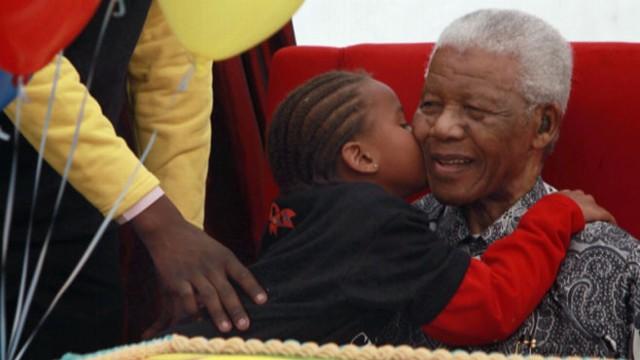 Tribute to Nelson Mandela From Children Around World Video - ABC News