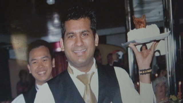VIDEO: Indian waiter Russel Rebello is among those missing from the Costa Concordia.