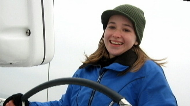 Teen Attempts Solo Sail Around World