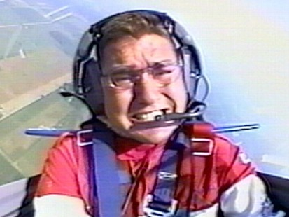 VIDEO: Raw video of Schrenker rolling his plane 33 times at a 1999 air show.