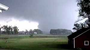 VIDEO: Tornado Strikes Small Town Iowa