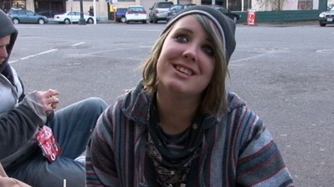 VIDEO: How one street teen pulled herself &quot;out of the gutter.&quot;