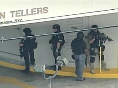 VIDEO: Employee reportedly kidnapped, taken to bank, bomb strapped to him.