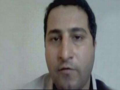 VIDEO: Shahram Amiri posts a video message on YouTube.