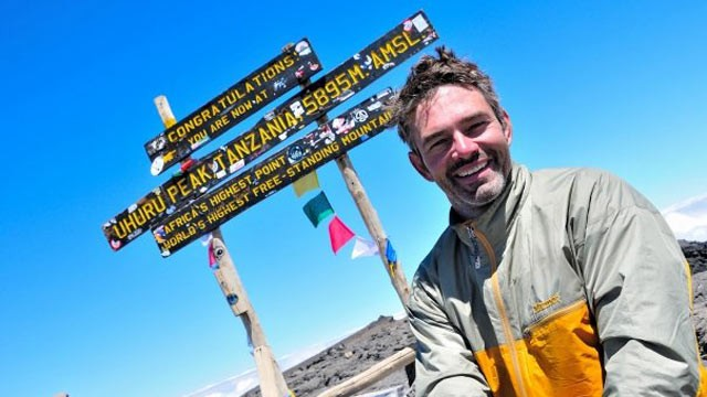 "PHOTO: Chris Waddell is the first person to climb Mount Kilimanjaro using a handcycle, a trek documented in the 2010 film ""One Revolution."""