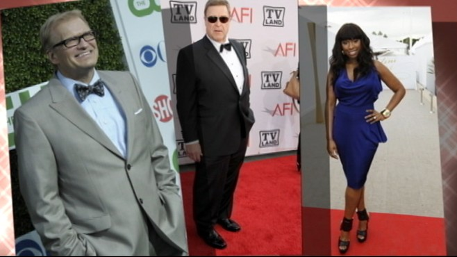 VIDEO: Popular celebrities John Goodman and Drew Carey shed pounds this summer.