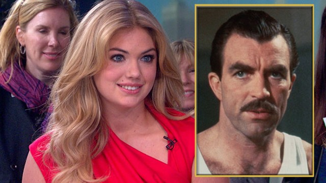 VIDEO: Kate Upton Wants You to Grow a Mustache