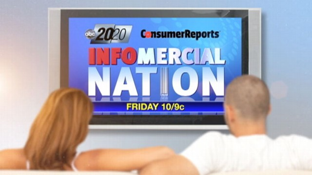 VIDEO: 20/20 and Consumer Reports take you inside infomercials.