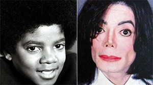 Then and now: Michael Jackson changed his appearance radically over the decades. The how and why of his transformation remain open questions.