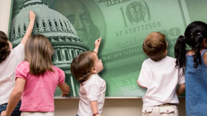 Photo: Federal funding for universal pre-school