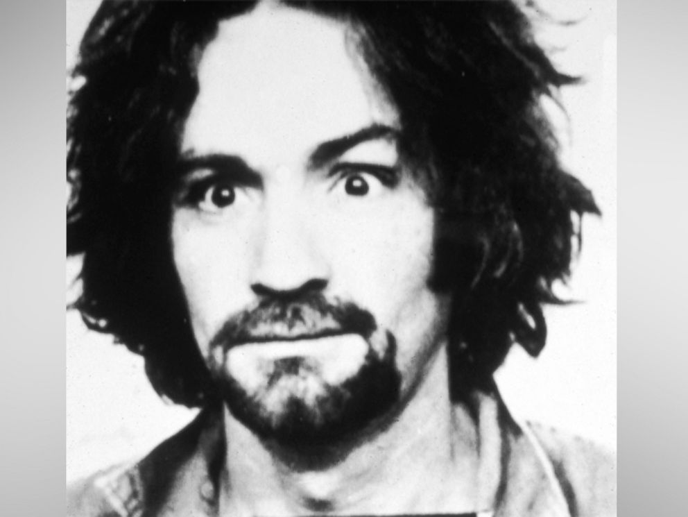 PHOTO: Police mug shot of American cult leader and murderer Charles Manson, 1969.