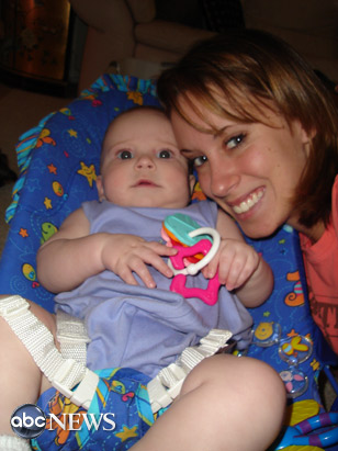 Casey Anthony and baby Caylee in 2005.