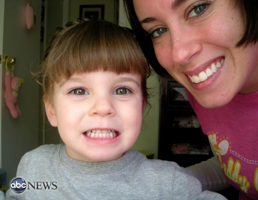 Pictures of missing Florida toddler Caylee Anthony and her mother Casey Anthony.