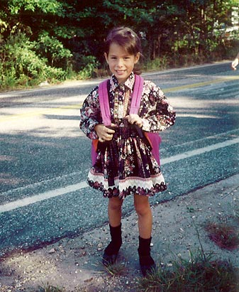Photo: Ashley Dupré at age 6.