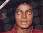 "Lincensed content: Michael Jackson as a werewolf in ""Thriller."""
