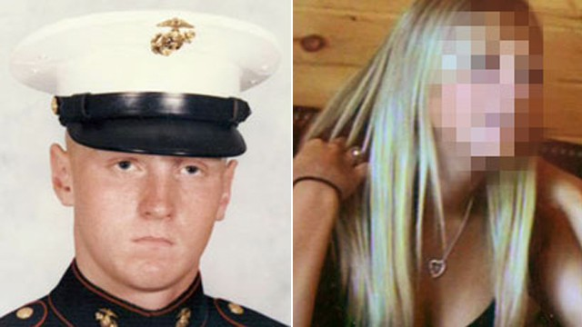 PHOTO: A beautiful 18-year-old girl meets a handsome Iraq-bound Marine in a chat room. Who would have thought it would lead to a two-year affair, a love triangle and murder?