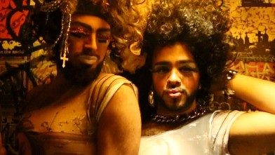 Gio Profera, aka Juleisy, and Josue Garcia, aka Karla, are the duo behind the gender bender drag show