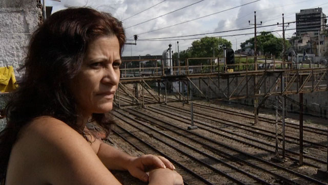 Tania Fontinele is one of thousands of residents who have been forced to move out of the favelas in Rio de Janeiro. She says she is being evicted because of the 2014 World Cup.