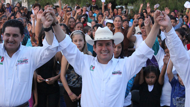 PHOTO: Medrano, the first openly gay mayor ever elected in Mexico, is scheduled to take office in the rough, violence-plagued state of Zacatecas in September.