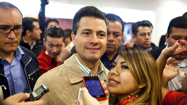 PHOTO:In the months leading up to Mexico´s elections hundreds of fake twitter accounts controlled by a computer program, automatically posted thousands of messages in support of Enrique Peña Nieto.