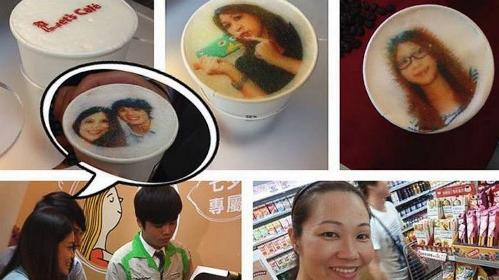 PHOTO: Coffee Selfie at Lets Cafe, Taiwan