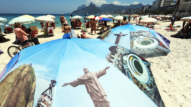 PHOTO: The Ipanema beach in Rio de Janeiro. Immigrating to Brazil could turn out to be a pretty good deal.